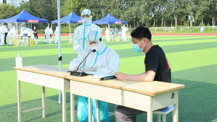 以练为战!聊城冠县举行新冠肺炎疫情应急处置演练