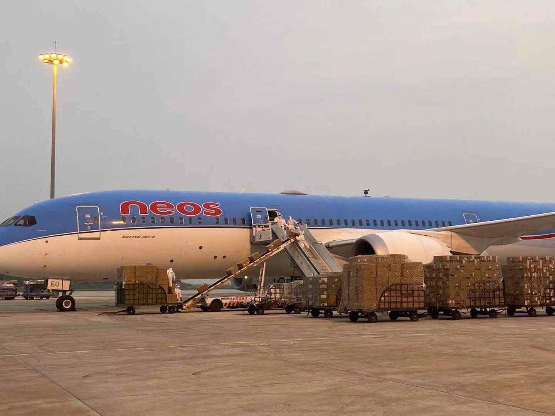济南国际机场开通直飞南美洲巴西圣保罗货运航线