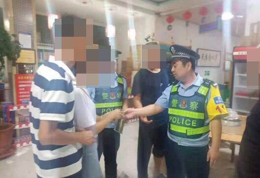 粗心大意的學生丟手機 濱州惠民民警兩小時幫找回