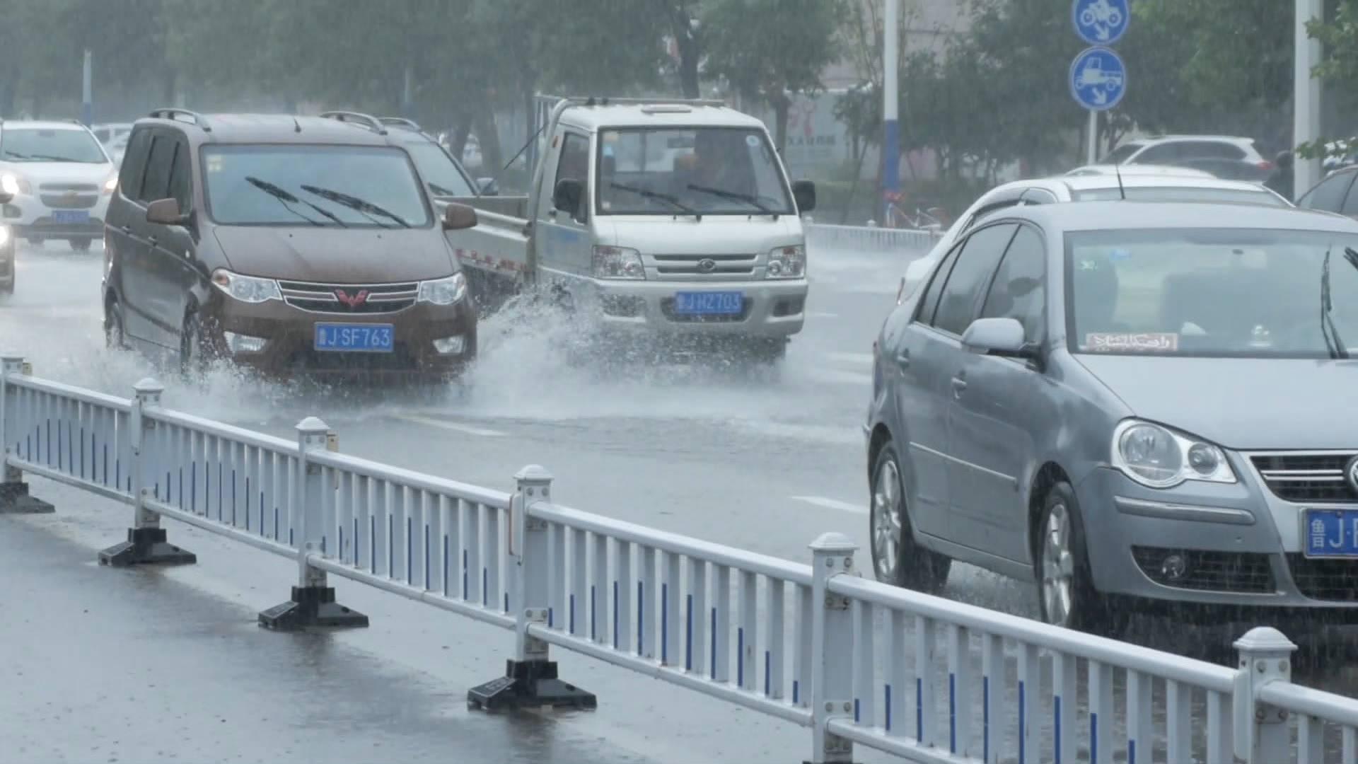 解除暴雨蓝色预警信号!今天夜间到明天白天 山东降水强度趋于减弱