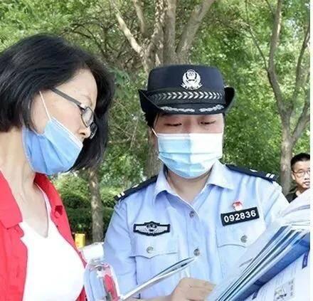 """""""這是詐騙!""""濱州濱城公安全警布防 成功阻斷一起電信詐騙"""