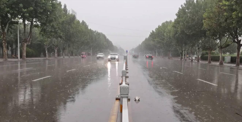 菏泽聊城等5市局地出现暴雨!今夜到6日白天,鲁东南半岛南部有大到暴雨局部大暴雨