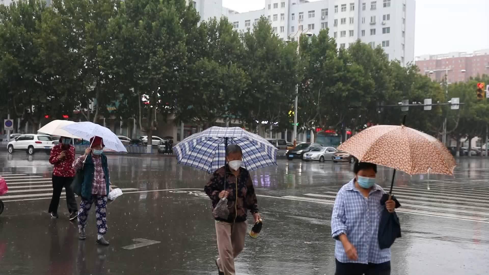 暴雨蓝色预警信号解除!今天下午到夜间,山东降水趋于减弱 范围减小