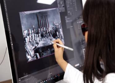 德州漫画家将200张《辛丑条约》时期照片3D化处理 让学生身临其境了解历史