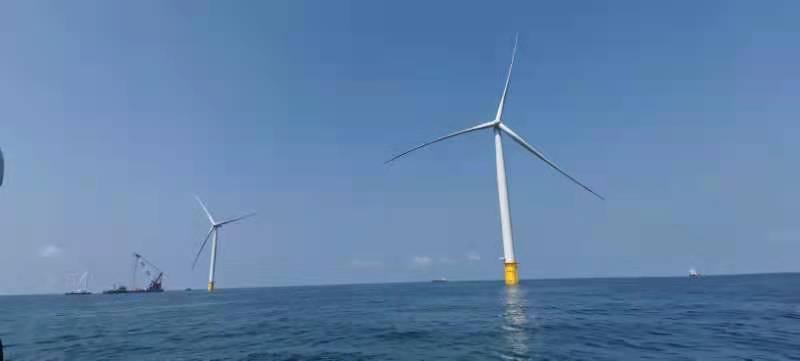"""向海""""揽""""风 山东发出海上第一度风电"""