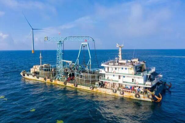 绿电新突破!山东电网首次接入海上风电项目