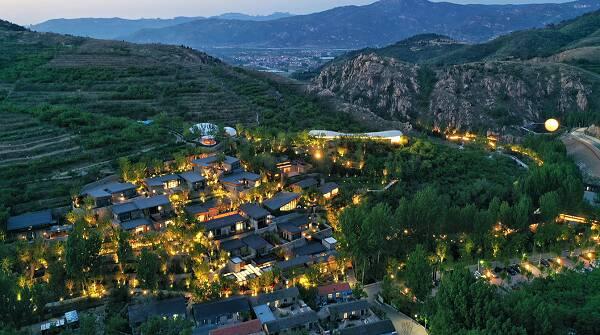 黄河入海看山东|一村一景的泰山九女峰 已经成为大家向往的村居生活