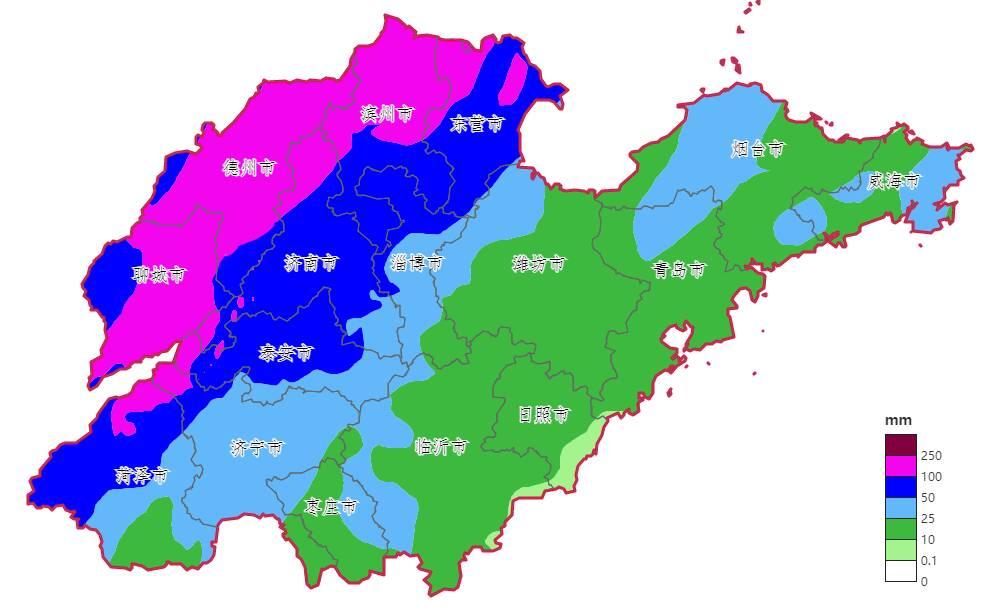 中秋節天氣預報出爐!山東這些地方將有大到暴雨部分地區大暴雨