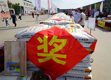 表彰奖励优秀农民!德州庆云县第四届农民丰收节开幕