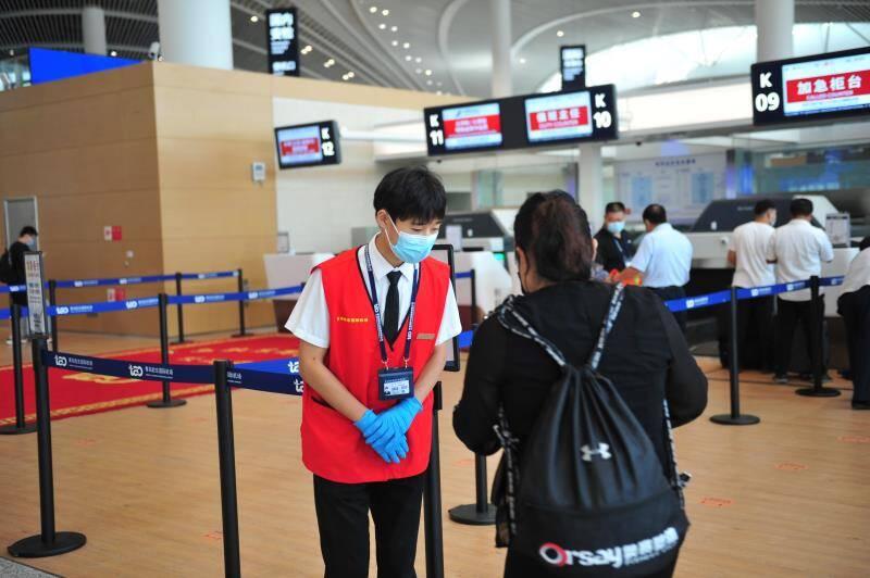 日均4.5万人次!青岛机场多措并举保障中秋小长假旅客出行