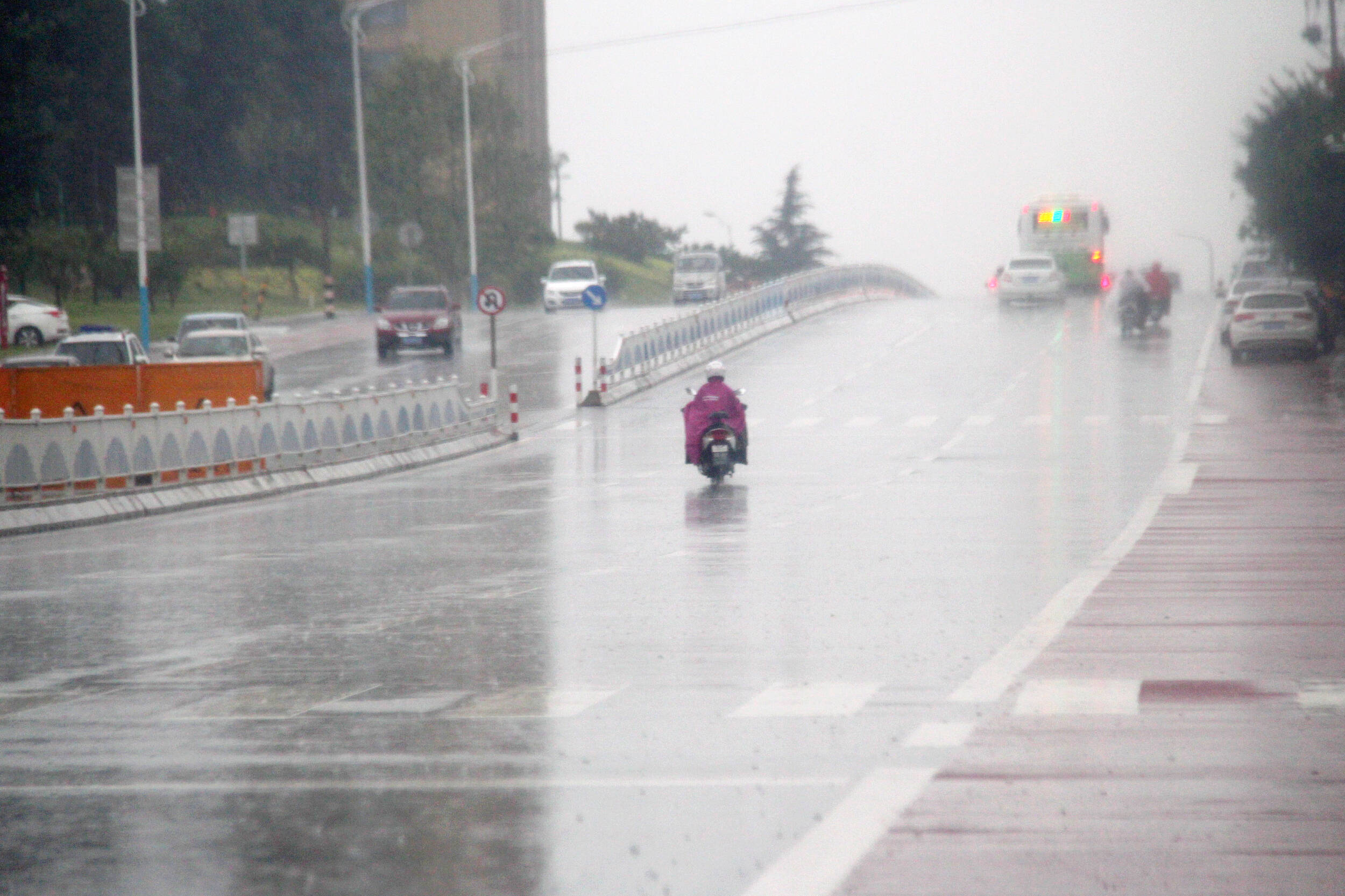 一周天气预报 中秋假期后两天山东部分地区依然有雨