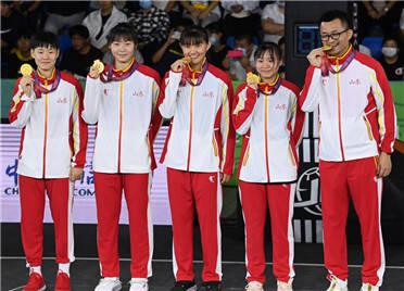 全运会三人篮球山东女队夺冠  潍坊运动员胡月为潍坊再添一金