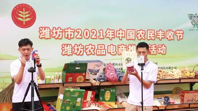 农民画展、直播带货一起来!闪电新闻记者带你逛逛潍坊2021中国农民丰收节