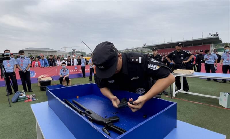 1161名运动员22支参赛队 山东省公安系统第二届警体运动会今天开幕