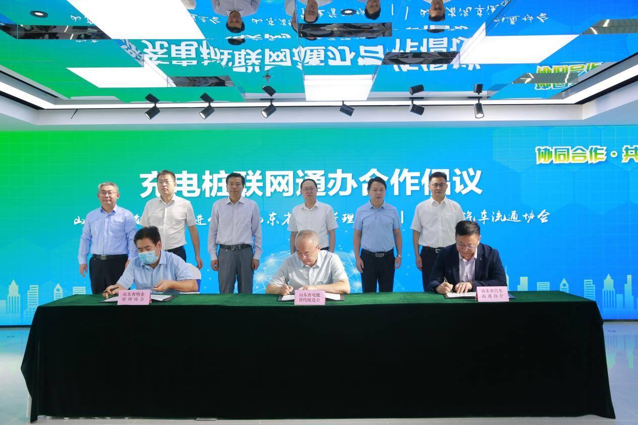 山东省电能替代促进会充换电基础设施专业委员会成立
