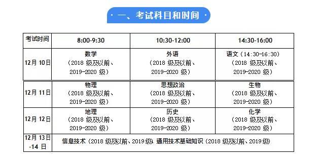"""山东冬季 """"学考"""" 10月21日—26日网上报名 12月10日开考"""