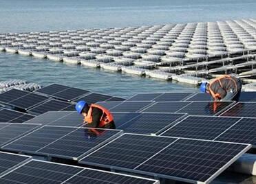 央广《中国之声》聚焦德州重点项目建设:丁庄水库光伏发电项目假期攻坚不停歇