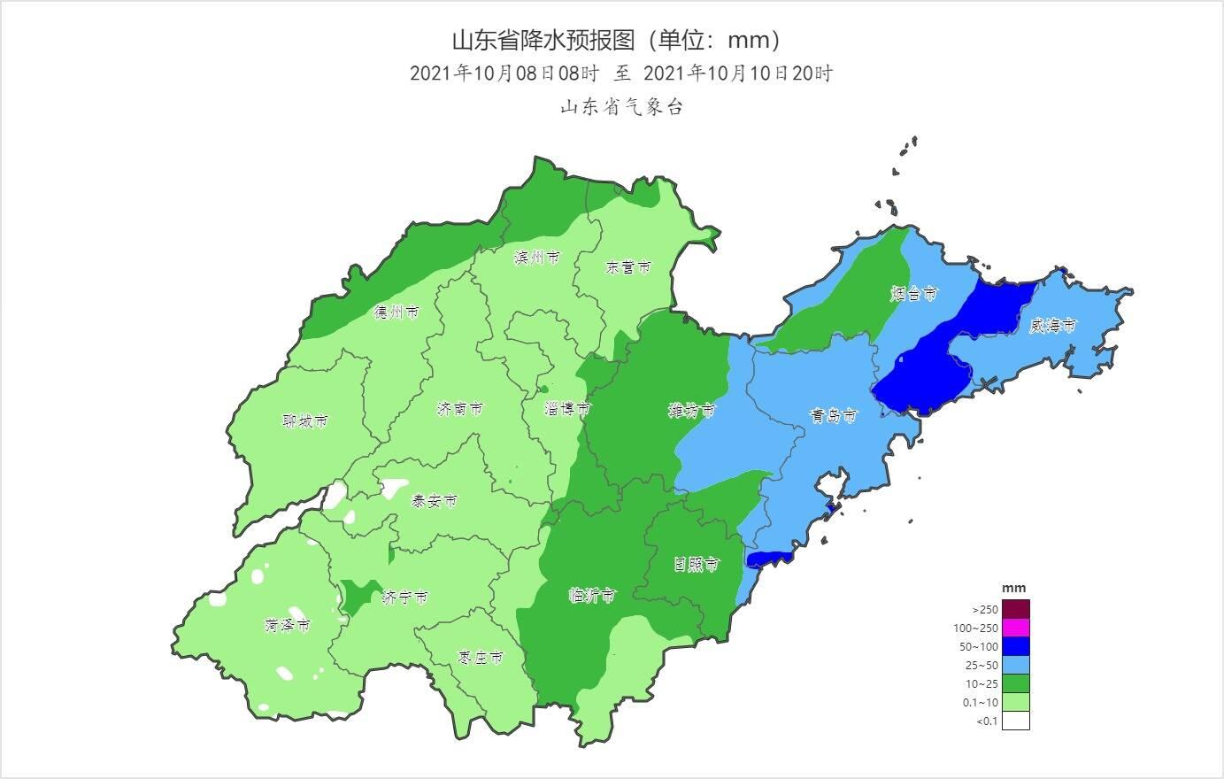 注意!8日夜间起山东大部再迎明显降雨天气