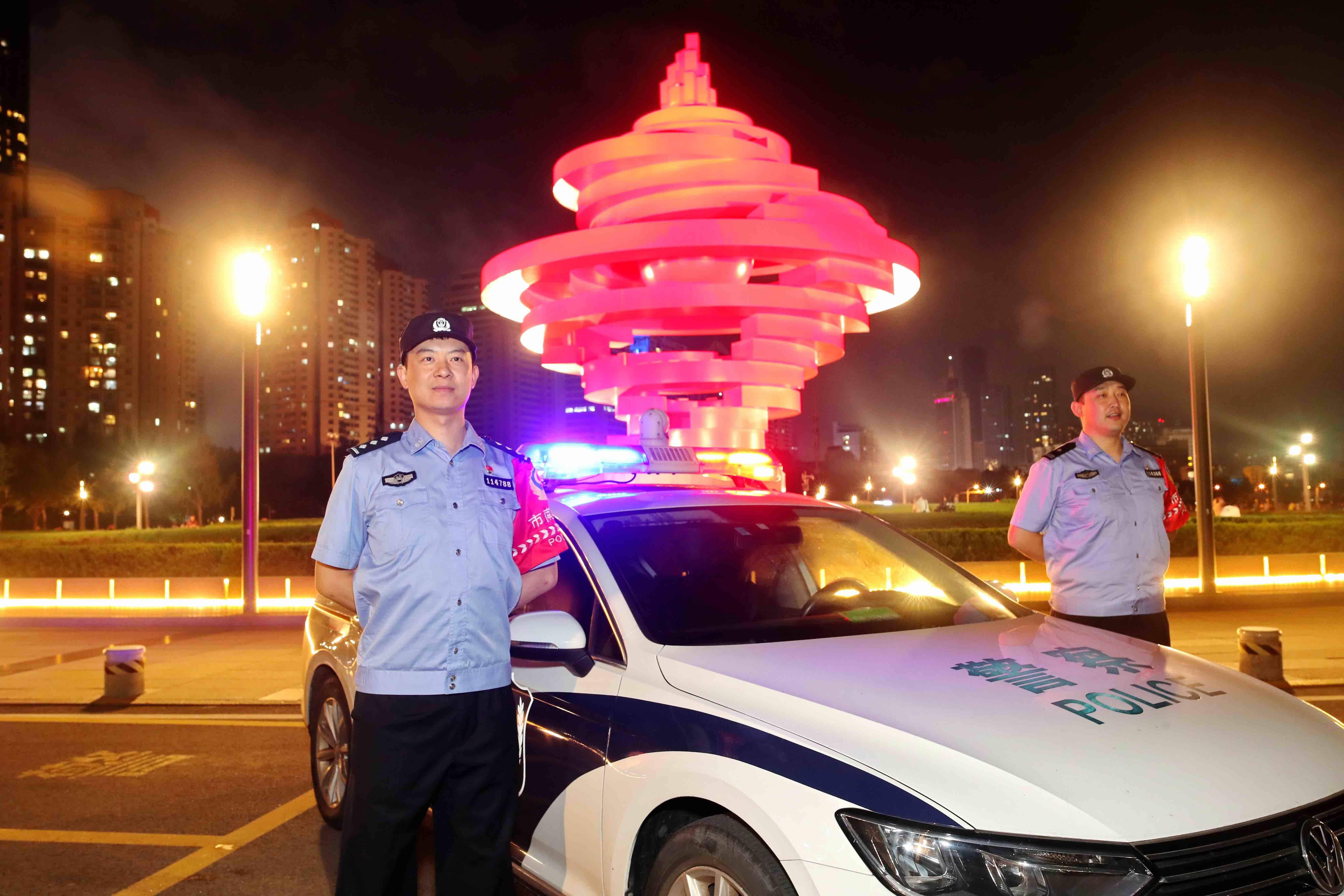 国庆假期山东全省接报警情56万余起 日均出动警力7万余人