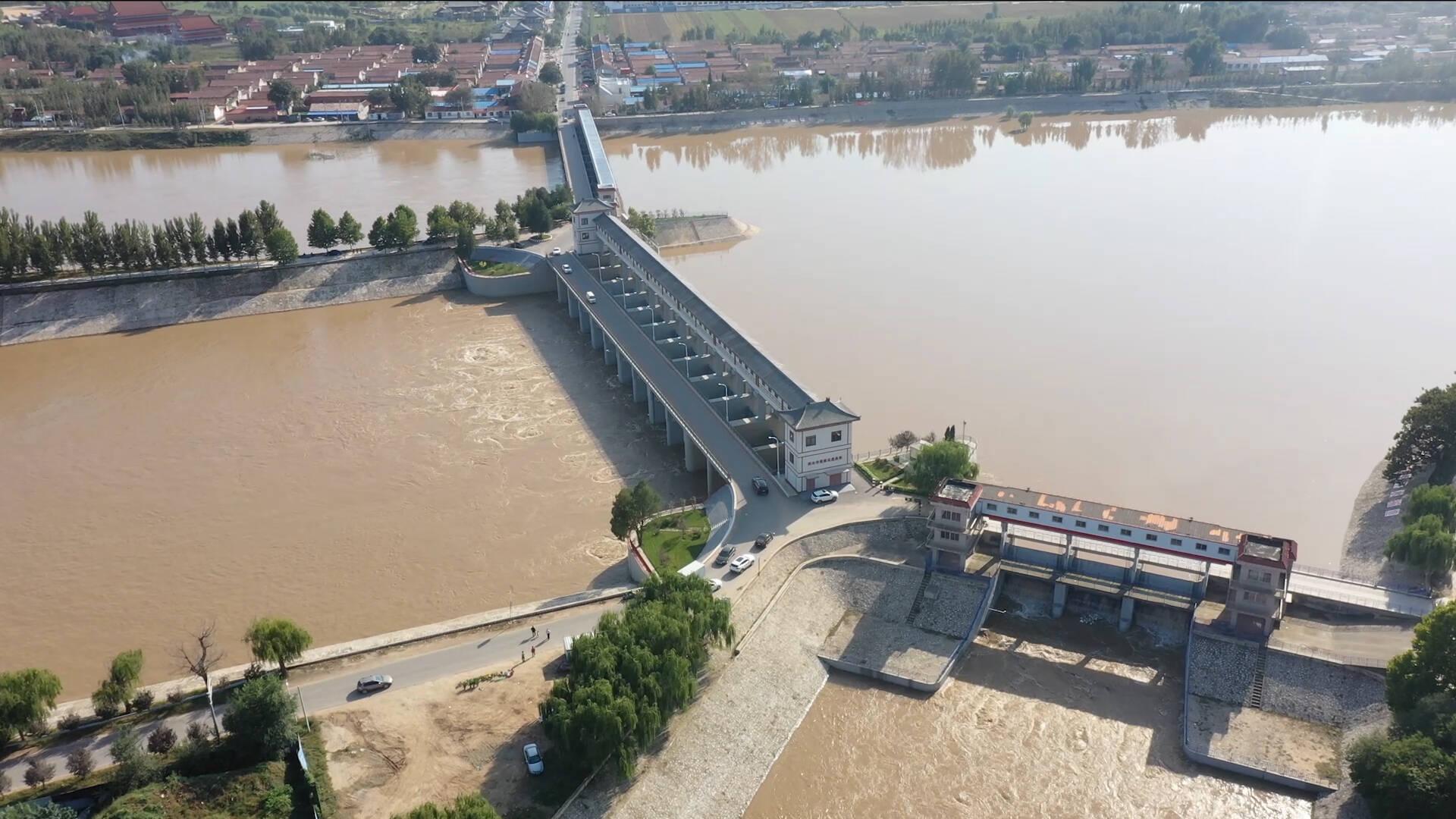 德州武城:特巡警24小时值守 全力保障二次行洪安全