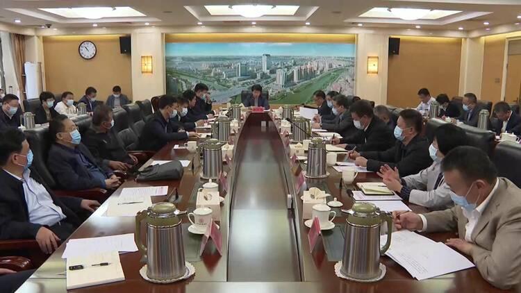 聊城市长李长萍安排部署全市农田排涝暨秋收工作