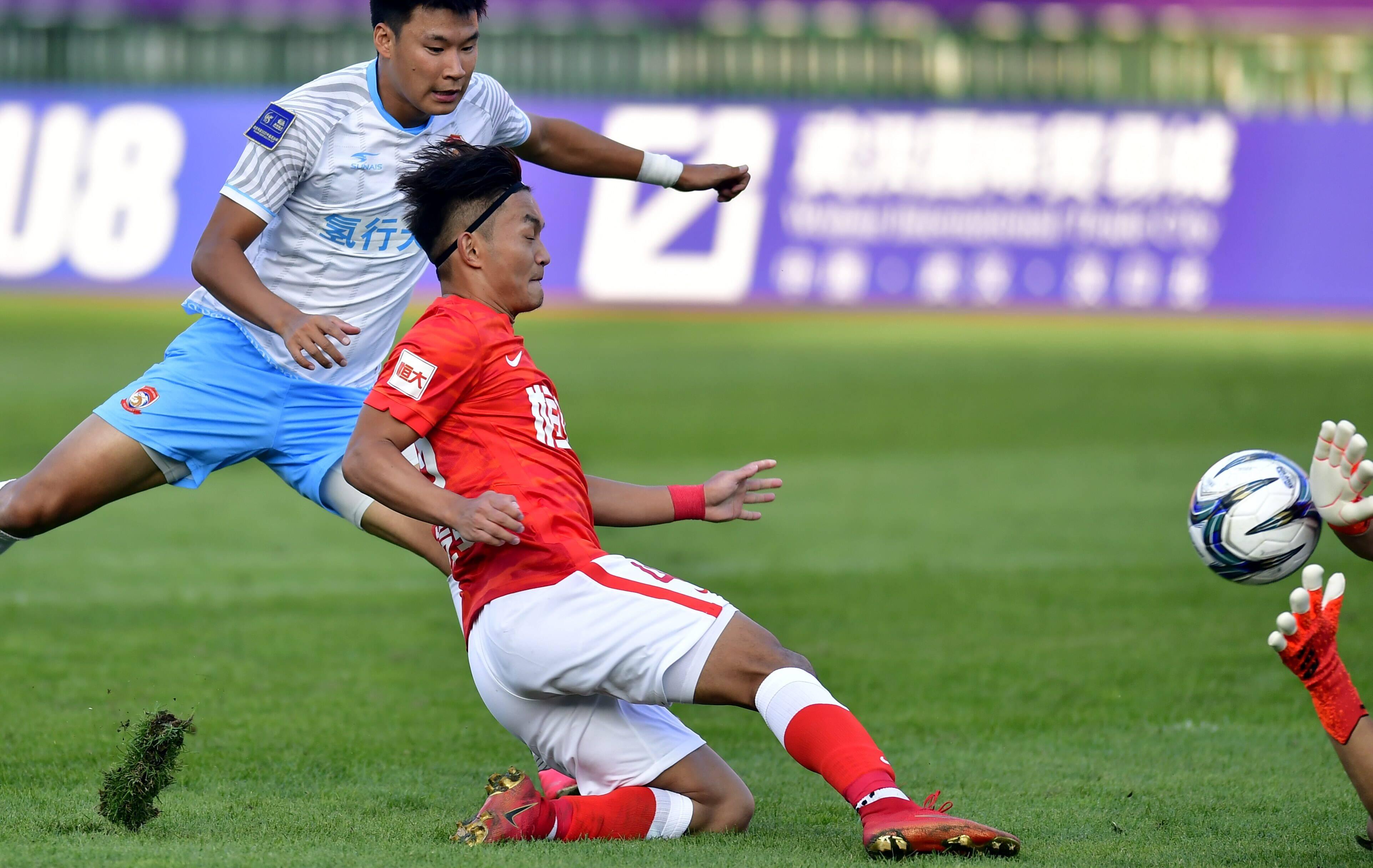 省体再次上演足协杯,首场比赛广州队0-1不敌青岛青春岛