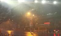 济南迎来2020年首场雪 气象台发布道路结冰黄色预警信号