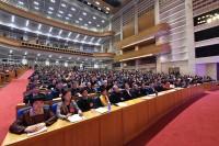 山东省政协十二届三次会议开幕,高清组图直击会场