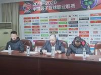 吴庆龙赛后肯定球队表现 感谢山东球迷的支持