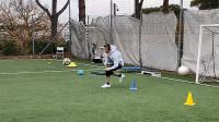 48秒丨新年加练不停歇!王大雷发布恢复视频大秀脚法