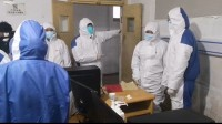 抗疫一线VLOG|闪电新闻记者深入湖北黄冈传染病医院 会议室临时改造成ICU