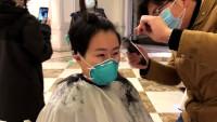闪电直击|给我剪个男孩发型! 山东援鄂医疗队女医护人员集体剪掉长发