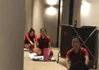 中国女足抵澳后被隔离  全队酒店走廊训练保持状态