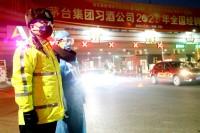 """济南交警的抗""""疫""""日志:24小时守护济南门户 无论凌晨还是零下"""