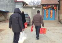 70秒丨送米面送蔬菜还送感冒药!临沂镇党委政府为隔离家庭送物资