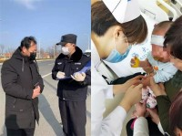 """警察蓝+医生白,威海经区警医夫妻同上战""""疫""""一线"""