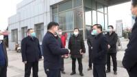 枣庄高新区领导深入复工企业调研疫情防控工作