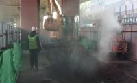 """济南无轨电车项目第一""""铲""""开挖 300余处公交站牌也要改造了"""