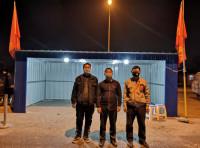 暖心!广饶3男子主动免费给疫情防控站点搭建钢结构办公用房