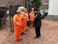 """青岛市北城管局推行防护口罩""""以旧换新"""" 集中回收统一转运"""