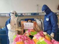 """""""谢谢你!山东人!""""大别山区域医疗中心患者写下黄冈的表白"""