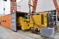 """青岛工程装备企业满负荷运转 生产""""一带一路""""出口订单"""