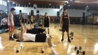 山东男篮封闭备战进行时 三名国内球员缺席
