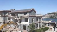 济南卧虎山水库旁12栋违建别墅开拆,31秒视频看现场