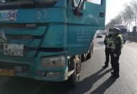 济南:C1驾证竟开渣土车 胆大司机被查获