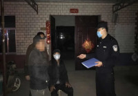 80多岁老人街头迷路 滨州沾化民警一小时助其找到家人