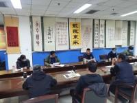 济南市体育局党组成员王建军一行到济南市篮球协会开展调研