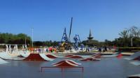 35秒|日照:万平口儿童运动乐园正紧张施工  6月1日起对外免费开放