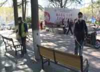 威海市环翠区加强公园环境消毒 为市民筑起健康防线