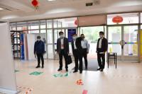 潍坊学院通过省市专家组开学条件核验核查